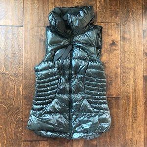 Lululemon | Fluffin Awesome Dark Green Puffer Vest